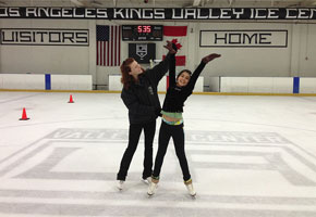 Photo courtesy of LA Kings Valley Ice Center